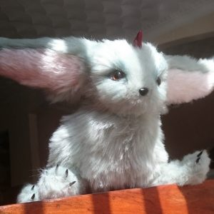 Final Fantasy XV carbuncle plush