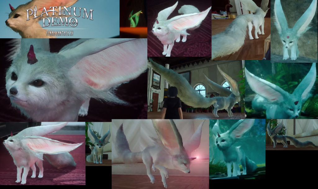 FFXV Carbuncle reference images