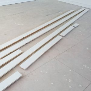 2016 Painted Pine Skirting Drying