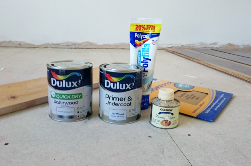 Everything you need to paint your skirting boards