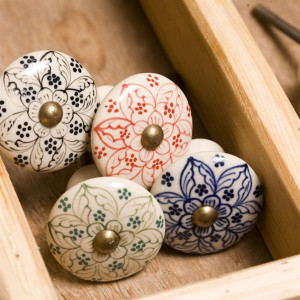 Patterned door knob