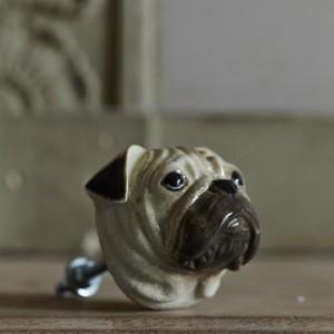 Pug door knob