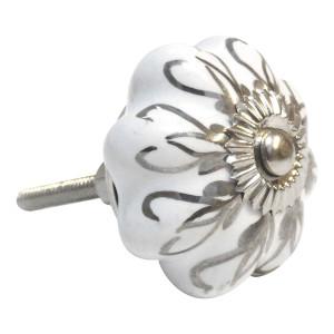 Floral door knob