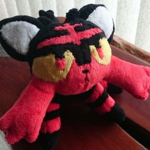 Litten plush - pokemon sun and moon