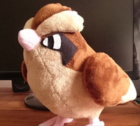 Full-size Pidgey Plush