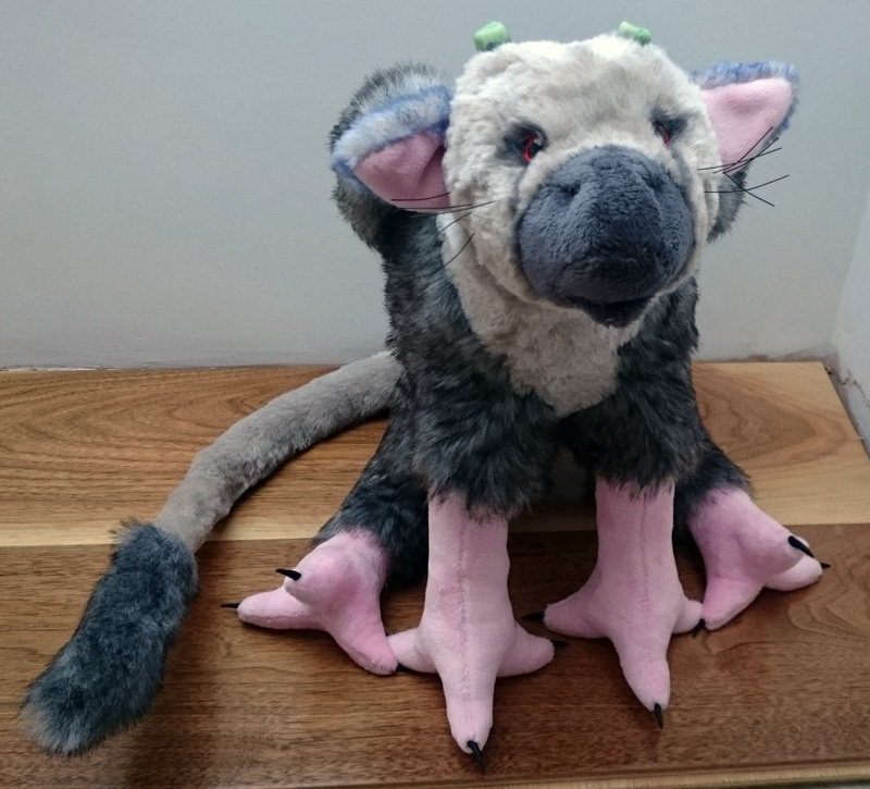 The Last Guardian plush toy
