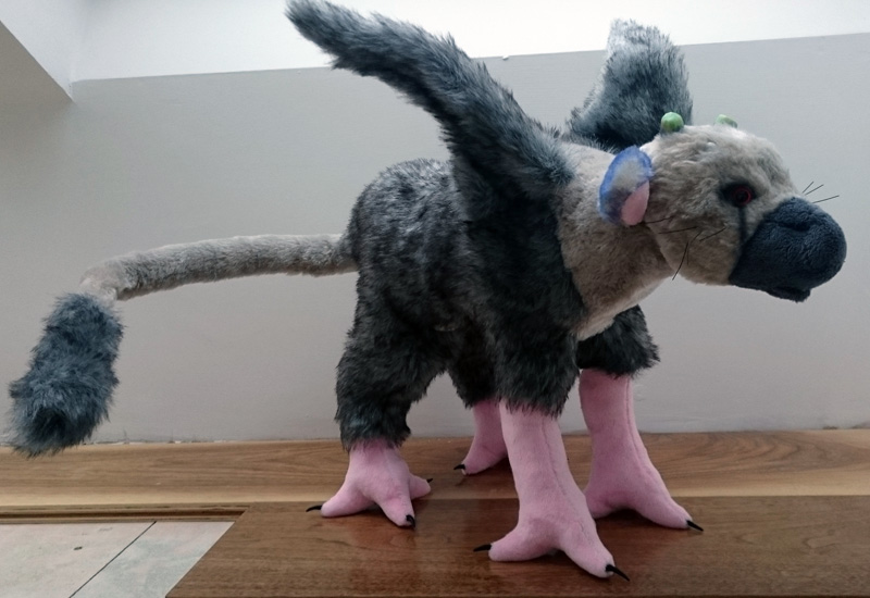 Trico plush from The Last Guardian