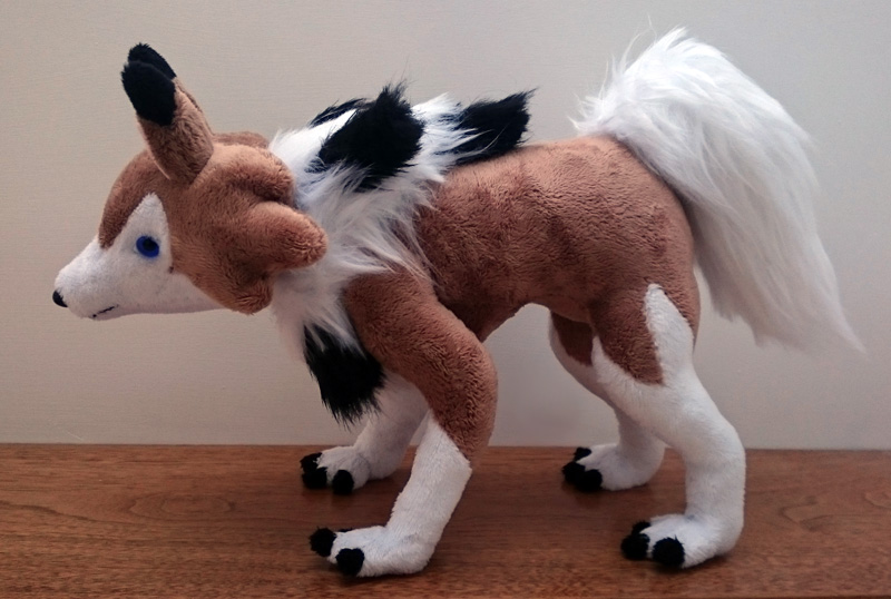 Lycanroc plush - pokemon