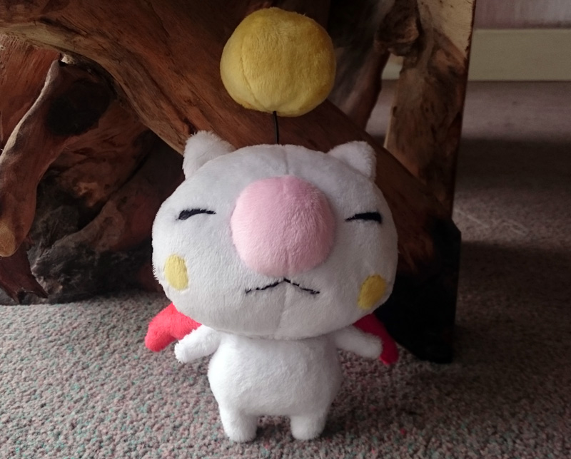 Mini moogle plush