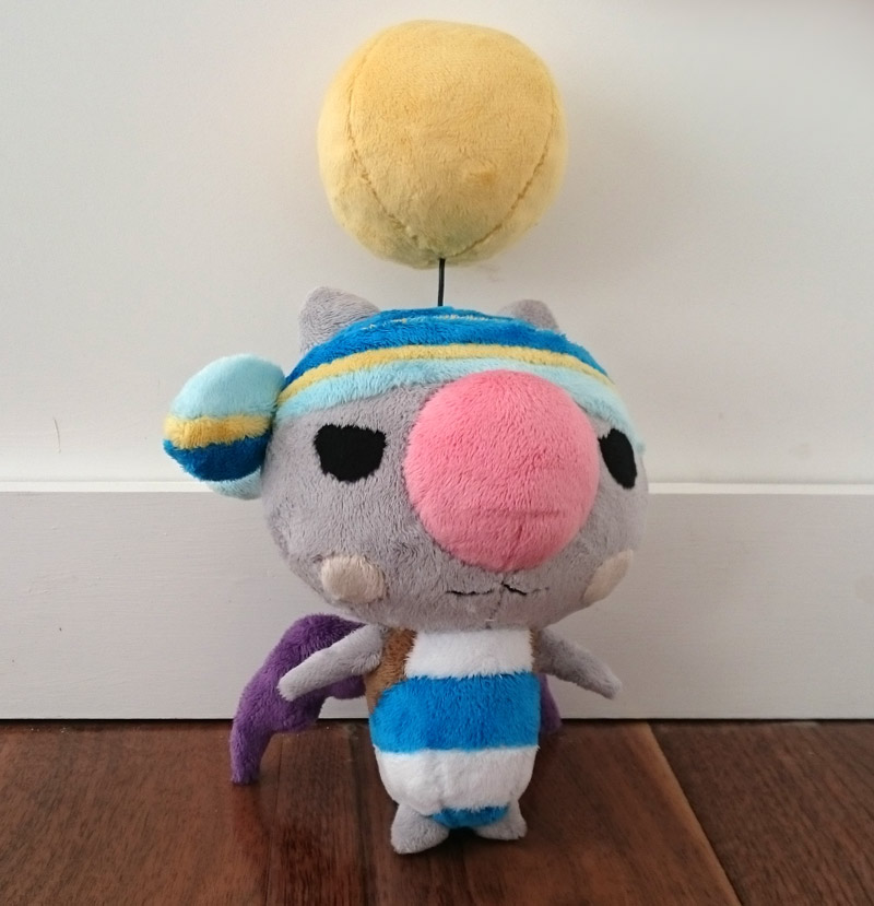 Kupirate plush - World of Final Fantasy