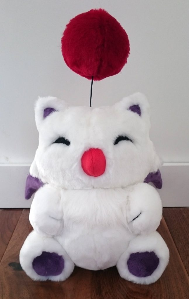 Moogle teddy bear - Final Fantasy
