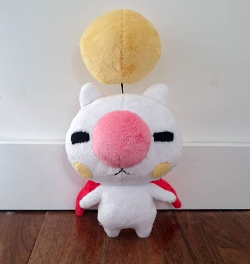 Moogle plush - World of Final Fantasy