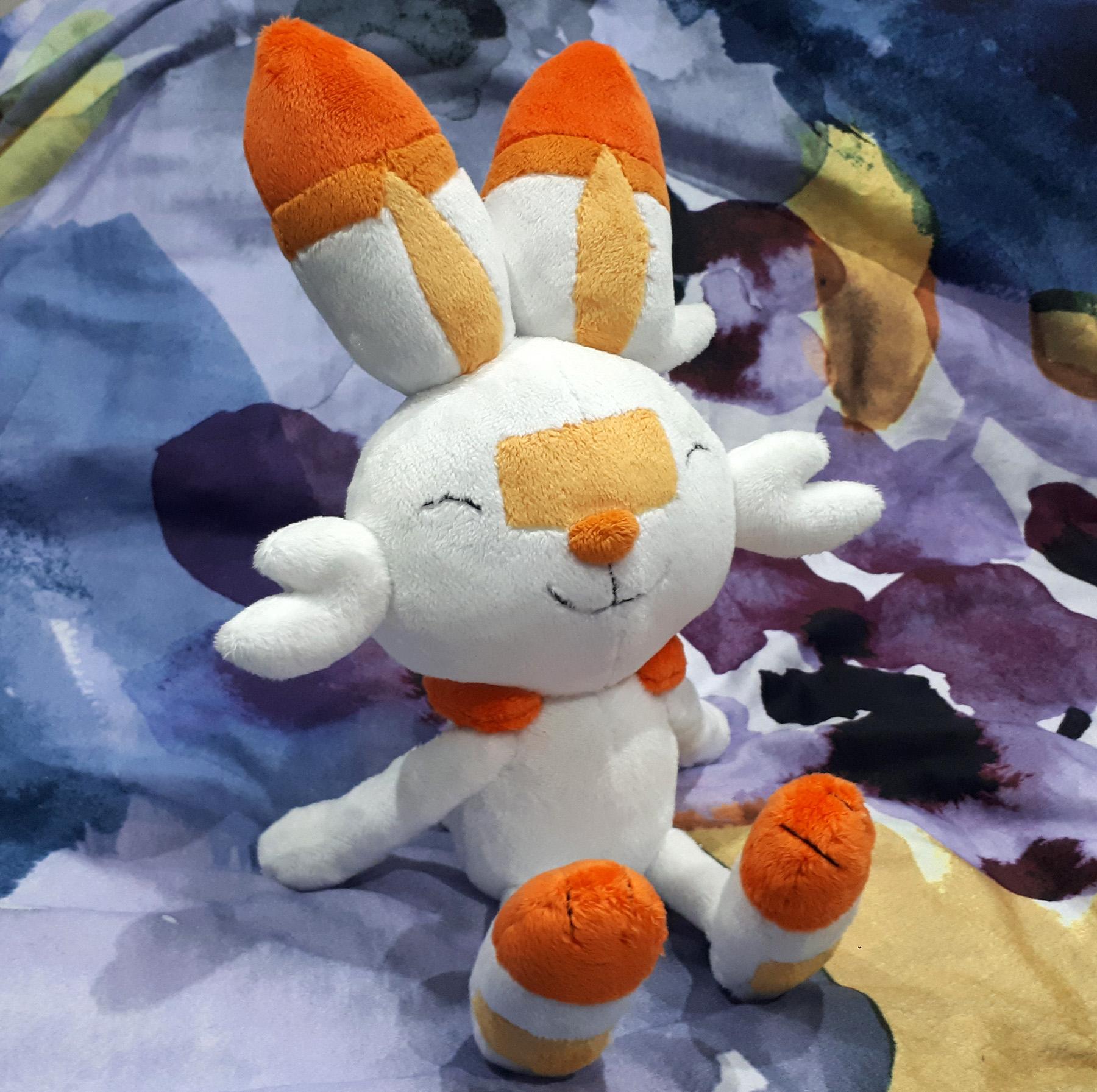 Pokemon Scorbunny plush