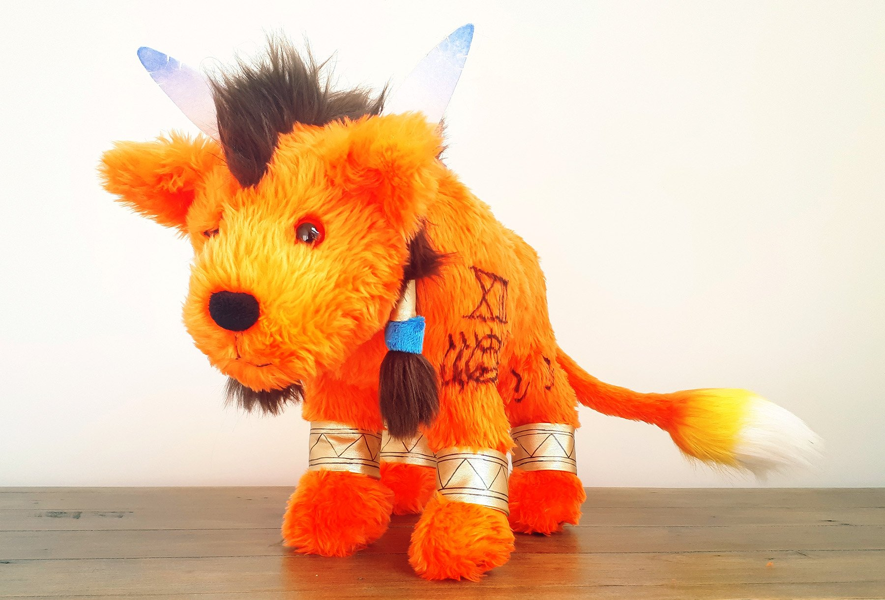large red xiii plush